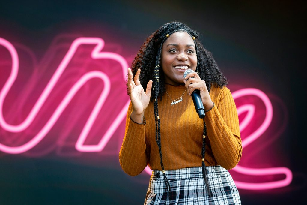 """Noname (AKA Fatimah Warner) gained a cult-like following after appearing as """"Noname Gypsy"""" on early Chance the Rapper mixtapes."""