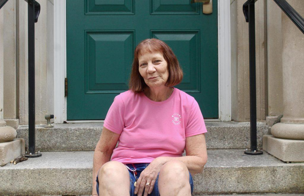 Valerie Turner has been a custodian on campus for the past 28 years. Sam Gollob/Contributing Writer