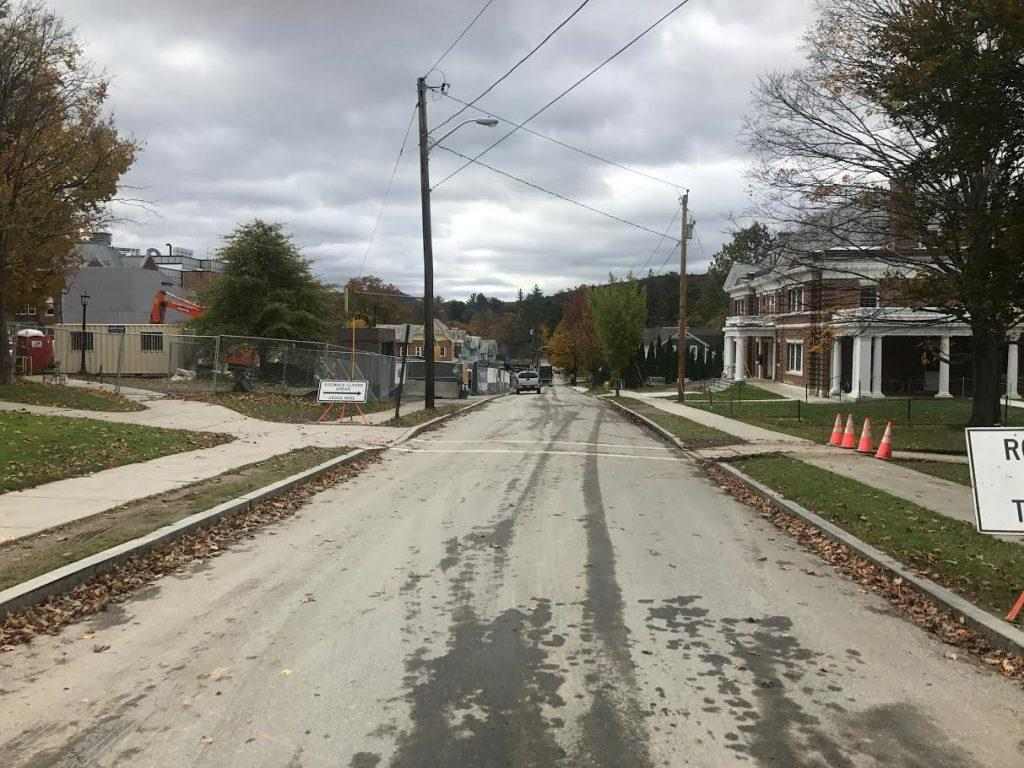 Some members of the Select Board were ambivalent about approving the street closure for Halloween on Hoxsey.   Samuel Wolf/News Editor