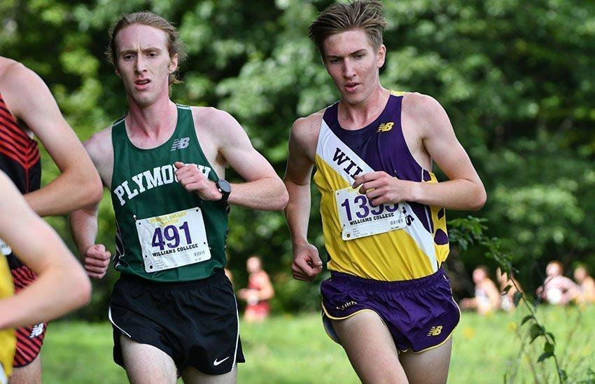 Aidan Ryan '21 led the way with a third overall finish in Saratoga. Photo courtesy of Sports Information.