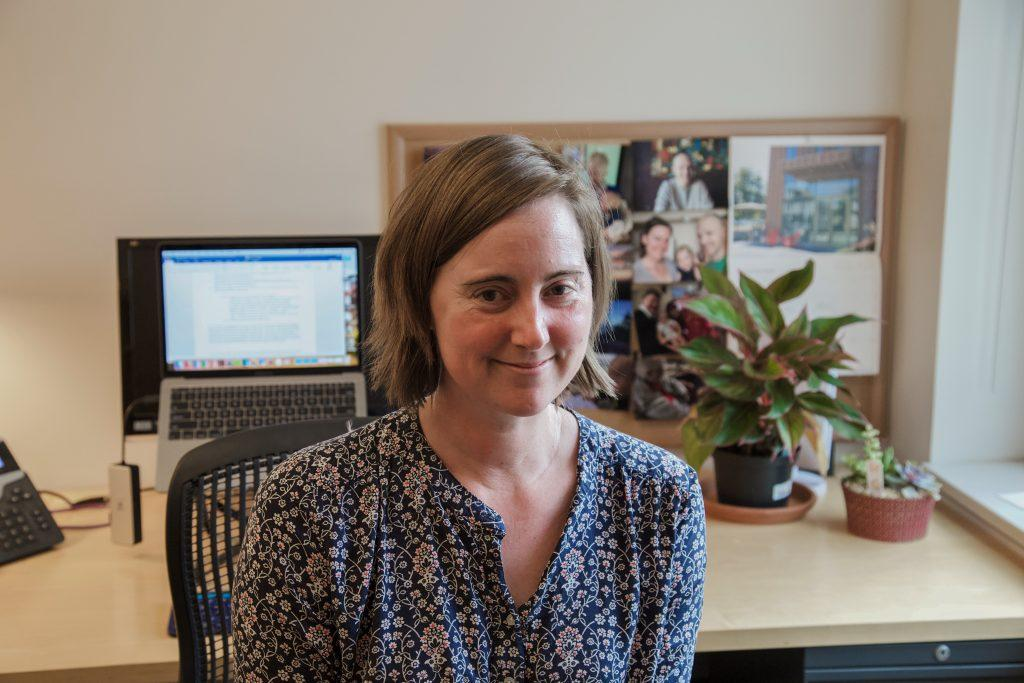 Greta Snyder is a visiting assistant professor in the WGSS department for the next three years. Katie Brule/Photo Editor