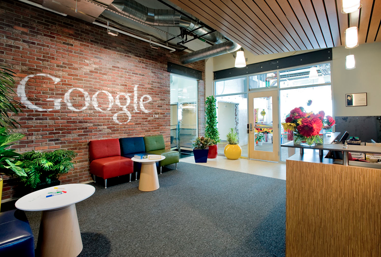 Google, ranked as one of the best places to work, is the number one employer of Williams graduates. Photo courtesy of Pittsburgh Magazine.