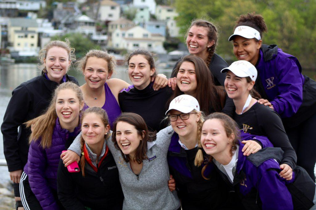 "The senior class of women's crew created a ""senior leadership council"" built on commitment, trust and, most importantly, friendship. Photo Courtesy of Sports Information."