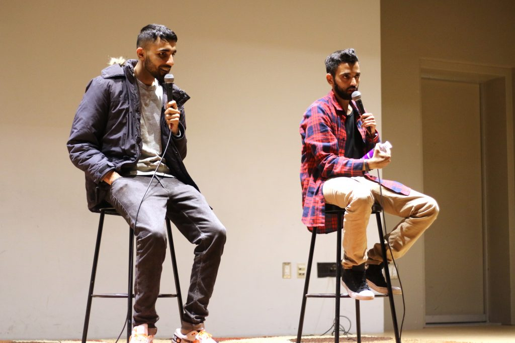 Indian, Pakistani stand-up comedy duo bring laughs to the College