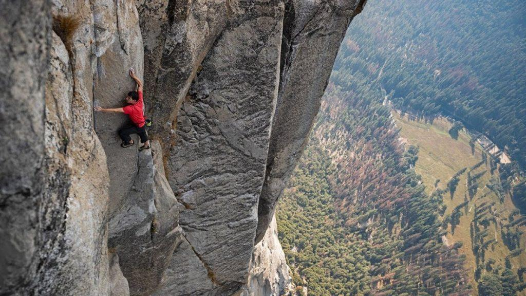 Alex Honnold leaves audience spellbound in