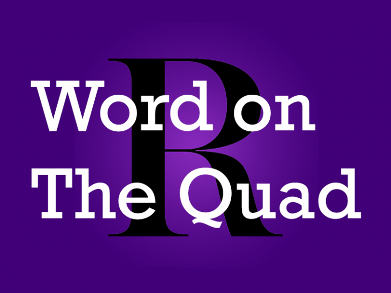 Word on the Quad: What sound do you think a squid makes?