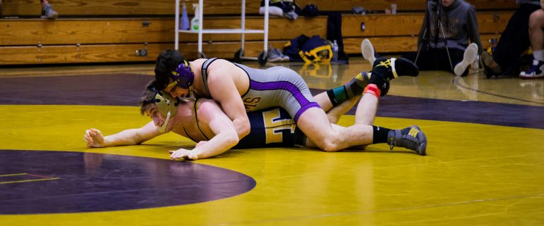 Brendon Seyfried '19 competed until the quarterfinals, as the Ephs finished sixth in Rochester, N.Y. Photo Courtesy of Sports Information.