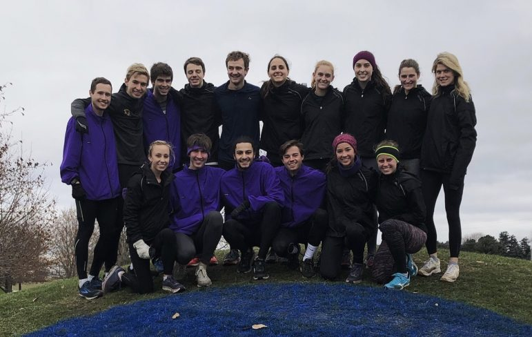 The No. 7 women's and No. 12 men's cross country teams travelled to Oshkosh, Wis. and placed seventh and eighth in the nation, respectively.  Photo Courtesy of Sports Information.