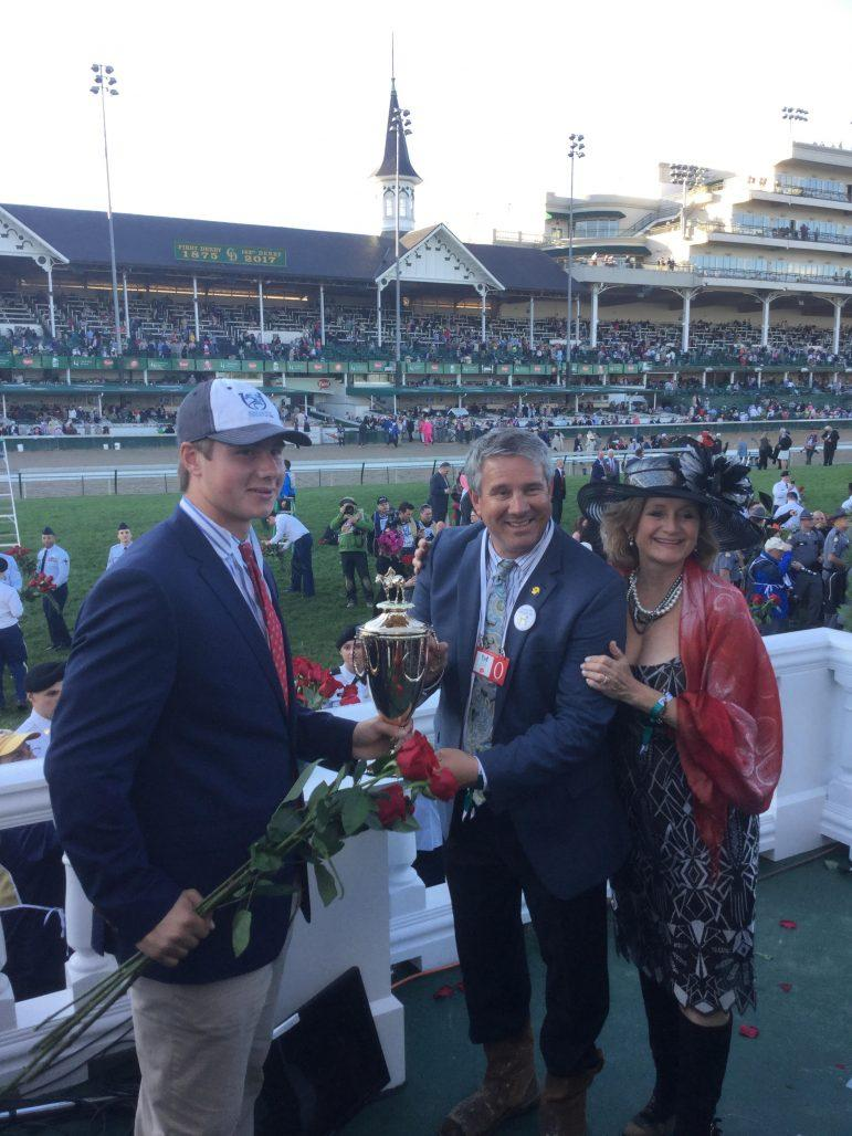 Jeff Lifson '86 details business of horse racing, buying Derby-winner