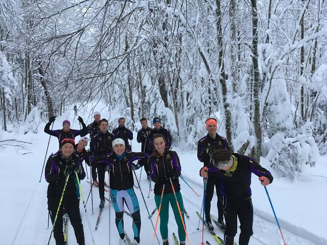 Nordic skiing updates fans on its latest practice runs and team travels at Ephnordic.blogspot.com. The team also has a Facebook and Instagram.