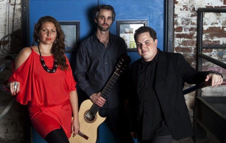La Voz de Tres performs eclectic, international jazz