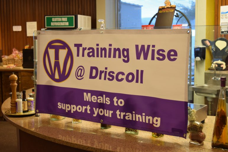 Driscoll newly offers nutritionally-balanced meals, available at dinners Monday through Friday and at lunches on Tuesdays, Wednesdays and Thursdays. SABRINE BRISMEUR/PHOTO EDITOR