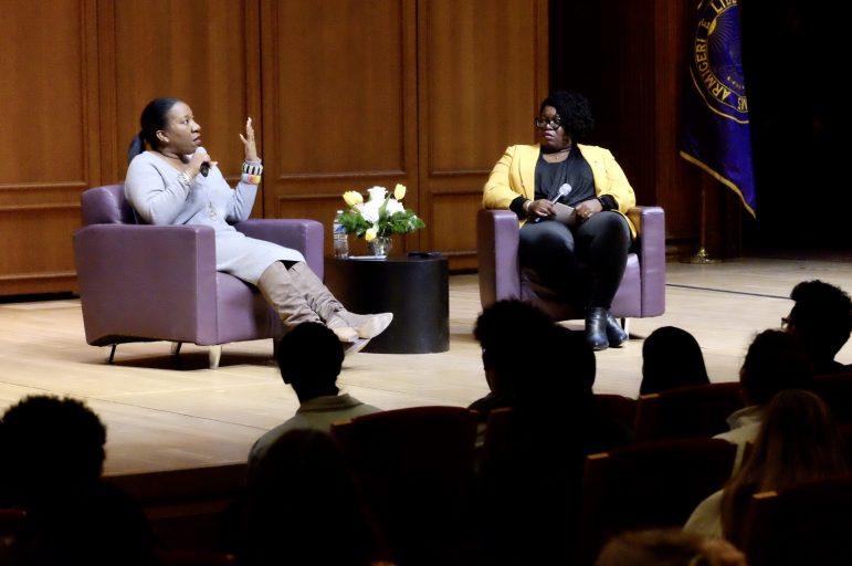 Tarana Burke delivers Claiming Williams keynote