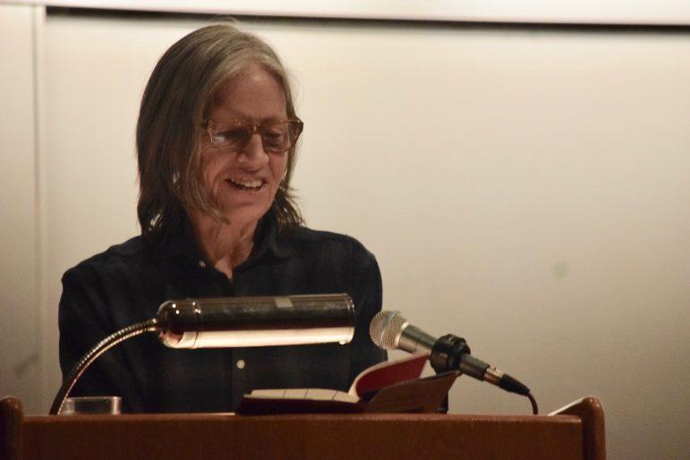Eileen Myles poetry reading brings humor, heart to Brooks-Rogers