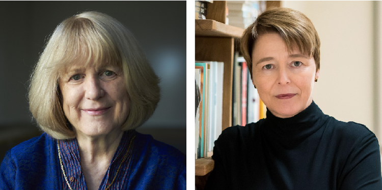 This year's commencement speaker, Mary-Claire King (left), discovered BRCA1, and baccalaureate speaker, Ophelia Dahl (right), co-founded Partners In Health. PHOTOS COURTESY OF MARY-CLAIRE KING AND OPHELIA DAHL.