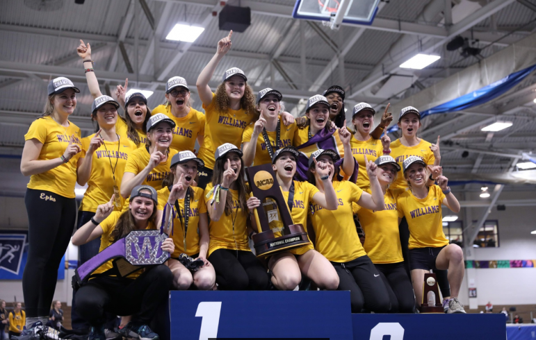 Women's track and field claims NCAA indoor title