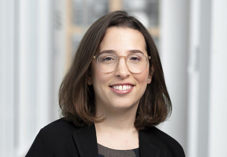Natalie Friedman Winston, photographed for NPR, 17 January 2019, in Washington DC.