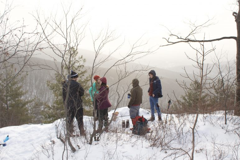 Sunrise hikes persist despite cold