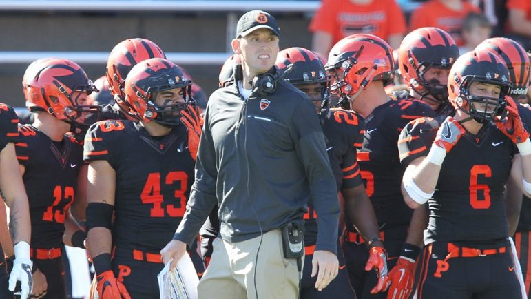 In 2018, Sean Gleeson '07 led the Princeton offense to a FCS-best 470 points en route to an undefeated season and an Ivy League title.