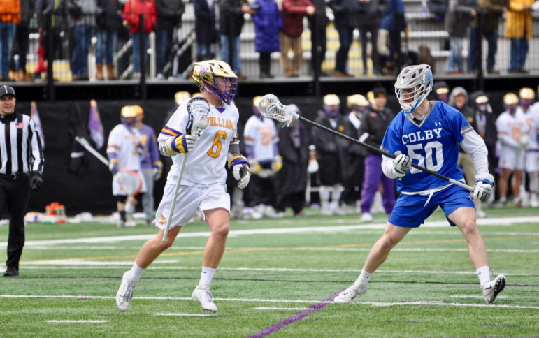 Cory Lund '21 has recorded 50 goals and 20 assists on a 42.0 shooting percentage this season. Photo courtesy of Sports Information.