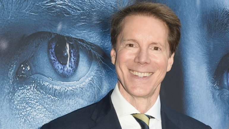 Frank Doelger '75, the executive producer of Game of Thrones, studied English at the College and participated in theatre at Oxford. Photo courtesy of Hollywood Reporter