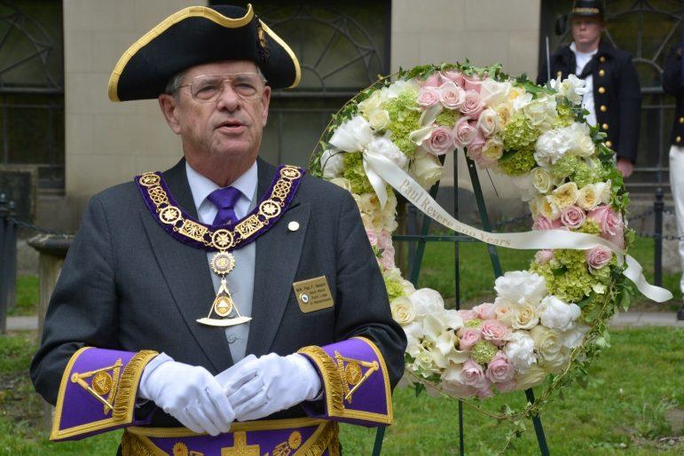 Paul Gleason '64 wraps up term as Freemason Grand Master