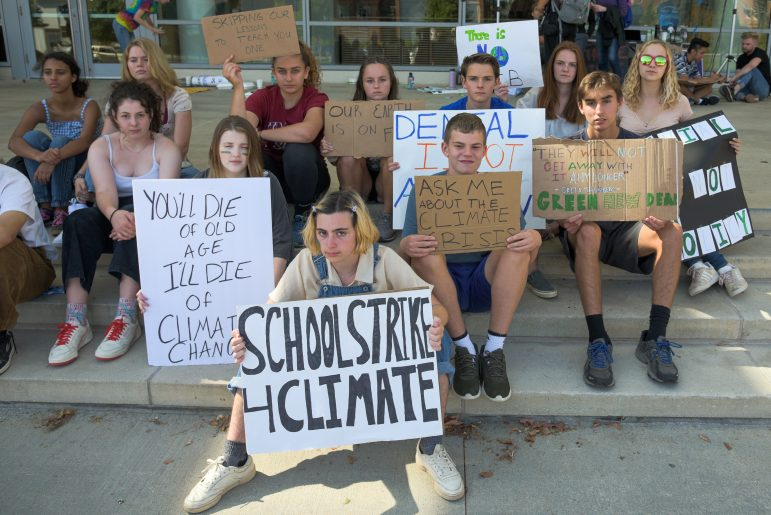 Community, College join Global Climate Strike