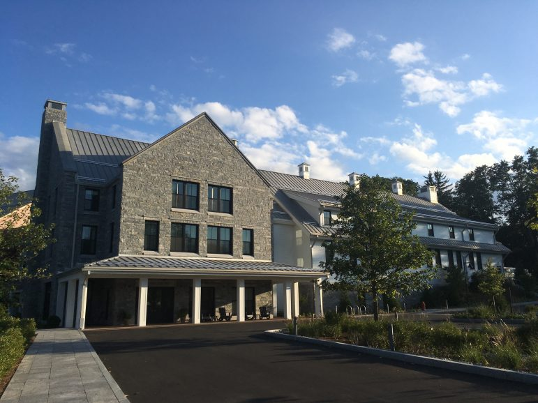 The exterior of the new Williams Inn from the driveway off of Spring Street. The inn has been open since August.  Photo courtesy of Joey Fox