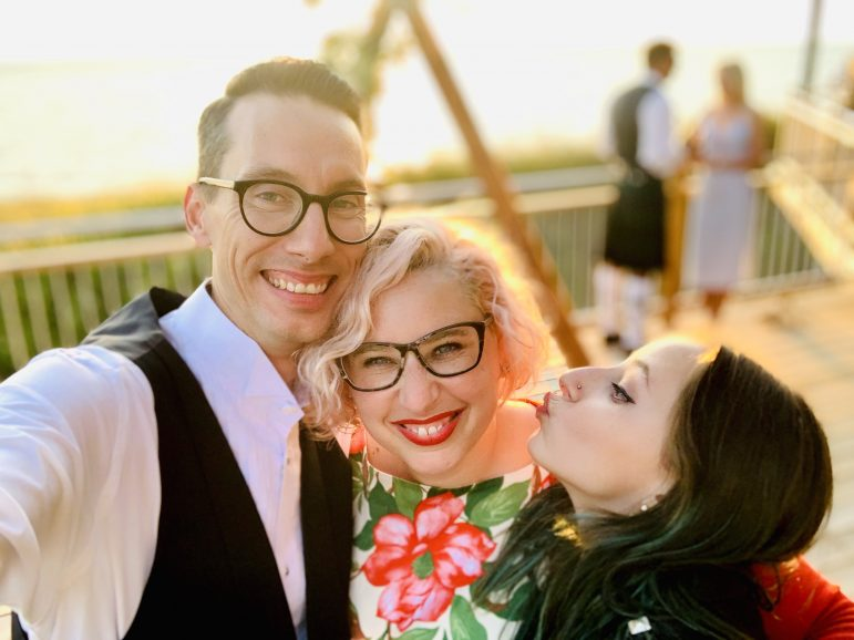 Hitched and living on Hoxsey: Lara and Jason Meintjes '22 settle into life at the College