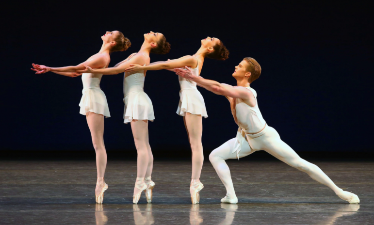 New York City Ballet performs, teaches at the College