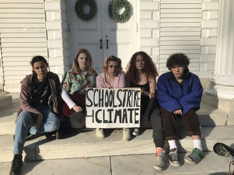 Local students strike for climate every Friday