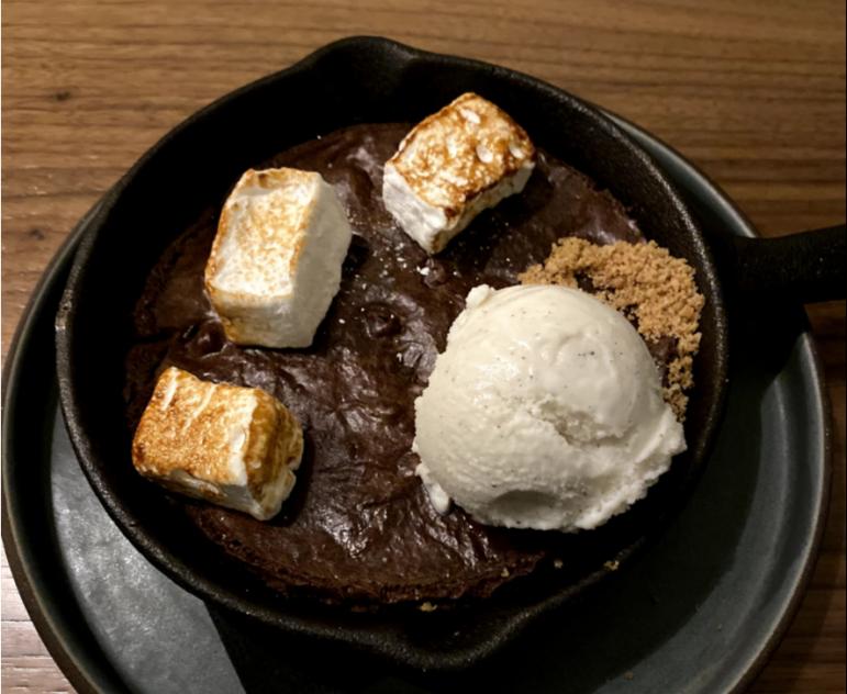 Williams Inn restaurant delights, for a hefty price