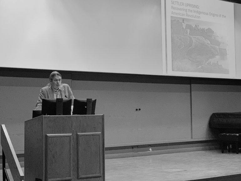 Blackhawk gives 2019 Davis Lecture