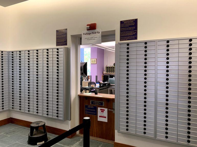 Mailroom changes affect student workers