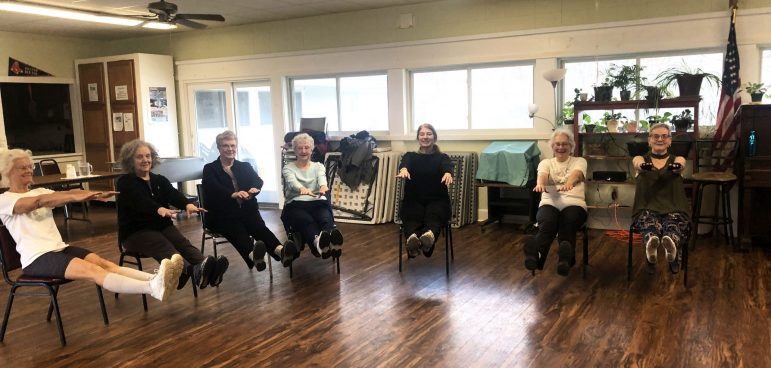 The Council on Aging offers free fitness classes at the Harper Center for community members to stay active. (Sofie Jones/ The Williams Record.)