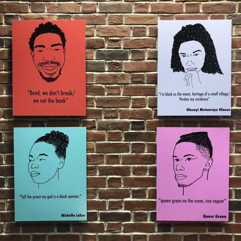 Sawyer art piece showcases experiences of black students