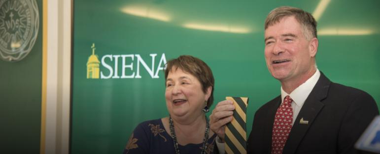 Professor Chris Gibson chosen as 12th president of Siena College