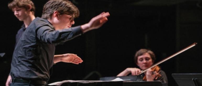 Brandon Hilfer '20 writes opera for senior music thesis