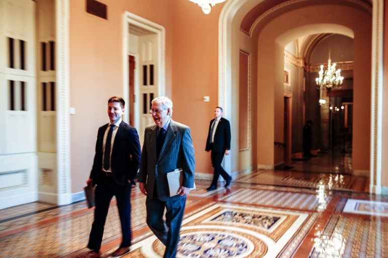Andrew Quinn '13 discusses career as speechwriter to U.S. Senate Majority Leader Mitch McConnell