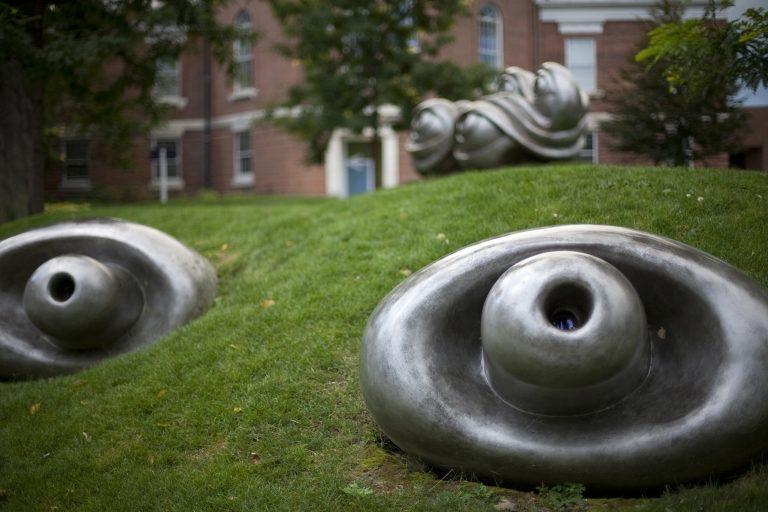 Graduate student explores legacy of public art on campus