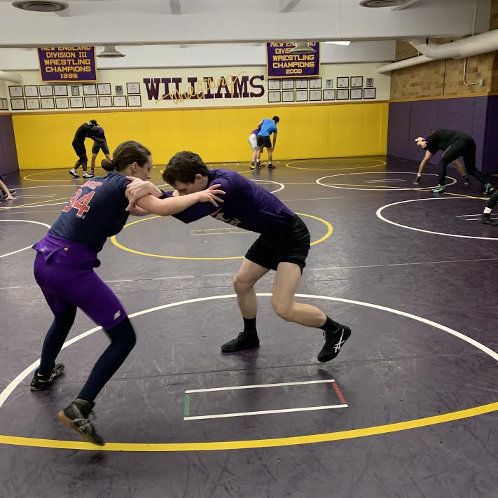 This nonner is a goner: a day on the College's wrestling team