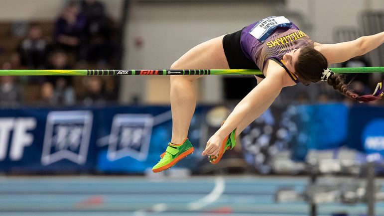 Women's track and field claims third Div. III New England title