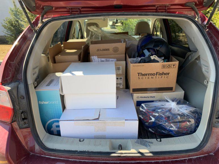 Cohen organizes personal protective equipment drive