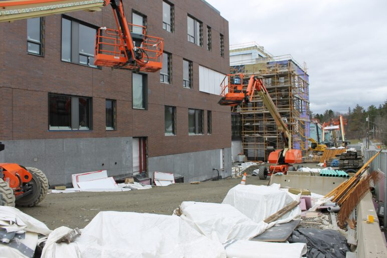 College halts construction projects as worker raises safety concerns