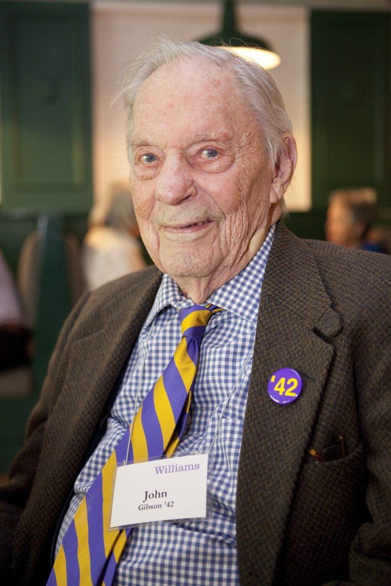 John M. Gibson '42, central Pa. civic leader and nonprofit board member, dies at 99