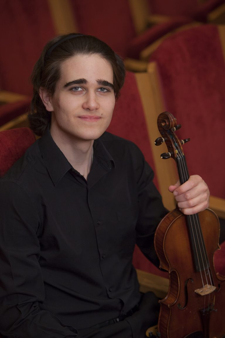 Ben Mygatt '20 has played violin for over a decade, and he is just getting started