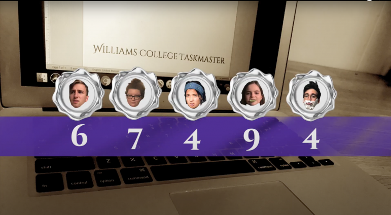 Williams College TaskMaster: cross-country quarantine comedy
