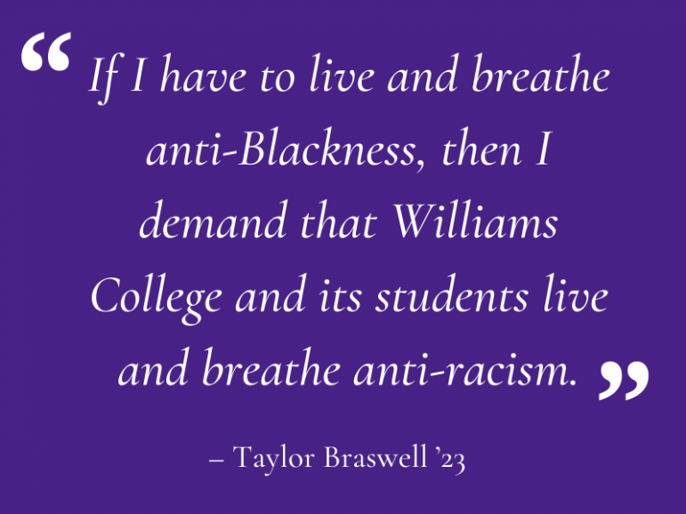 College faces criticism for response to national BLM movement as Amherst establishes matching campaign