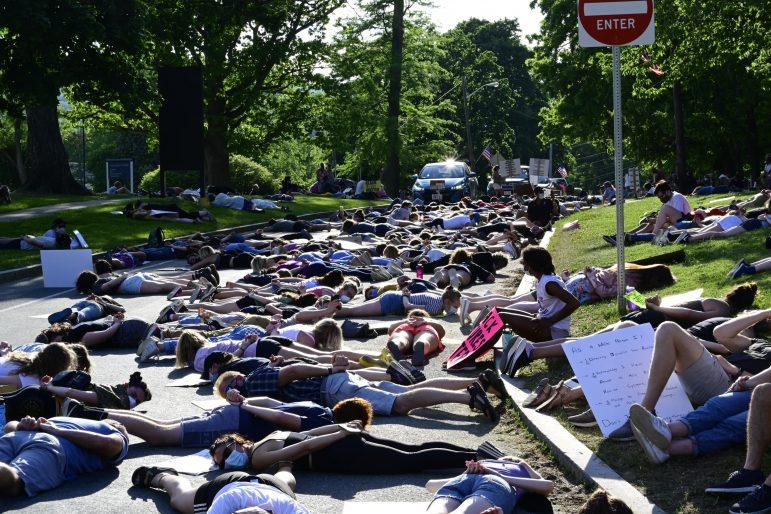 Williamstown protest calls attention to anti-Black racism, policing in Berkshires