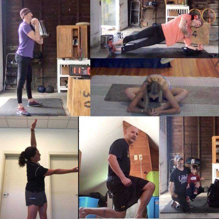 Nonner tests P.E. department's quarantine fitness videos; videos test her back